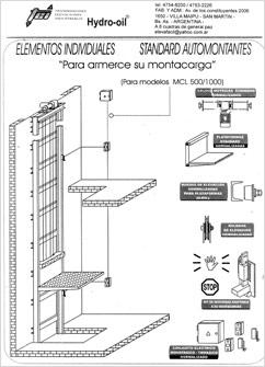 Partes de un puente grua monoviga - Precios montacargas para personas ...